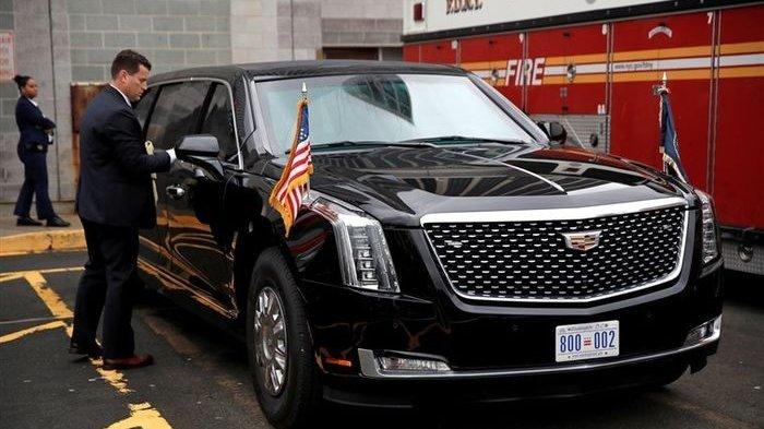 Anti Ledakan, Ini Kecanggihan Mobil Baru Donald Trump, Dilengkapi Kulkas Penuh Stok Darahnya