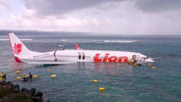 Masih Ingat Peristiwa Pesawat Nyemplung ke Laut di Ngurah Rai? Buwas Beberkan Fakta Mengejutkan Ini