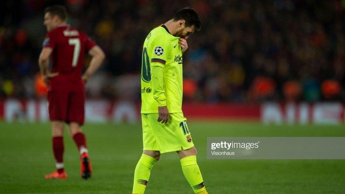 Dihajar Liverpool 4 Gol Tanpa Balas, Megabintang Barcelona Lionel Messi Ditinggal Bus