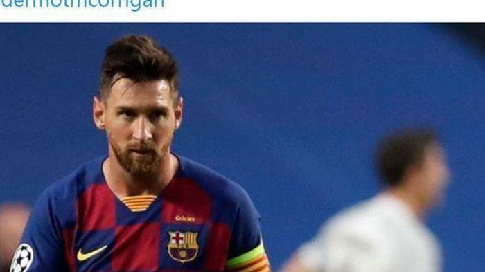 Barcelona Banderol Messi Rp 12,2 Triliun