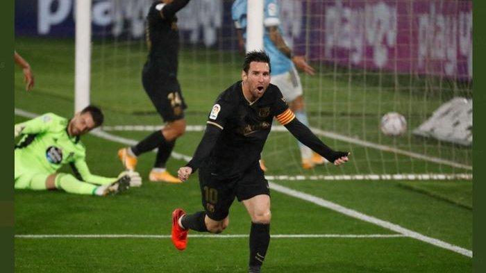 VIDEO Sentuhan Magis Lionel Messi Berujung Gol Bunuh Diri, Barcelona Menang 3-0