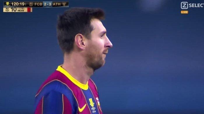 VIDEO Lionel Messi Ketahuan Pukul Lawan dari Belakang, Kena Kartu Merah Pertama Setelah 753 Laga