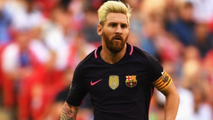 Alasan Messi Mengubah Warna Rambutnya Karena Ingin Melakukan Ini