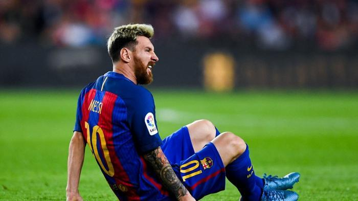 Messi tak Masuk Dalam Skuad Gabungan Manchester City dan Barcelona