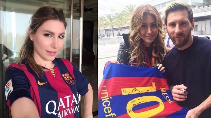 Wanita Cantik Ini Mengajak Messi Selfie, Siapa Dia? Ini Videonya