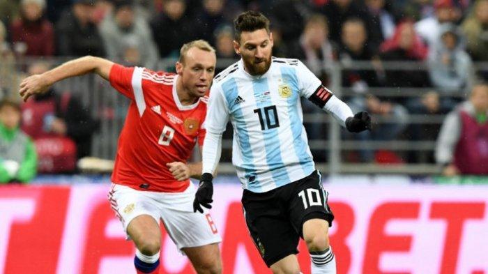 Lionel Messi Tak Puas dengan Hasil Argentina Kala Bertemu Rusia, Ini Penyebabnya