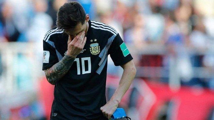 Tak Mampu Cetak Gol Meski Lewat Pinalti & Argentina Gagal Menang, Lionel Messi Salahkan Islandia
