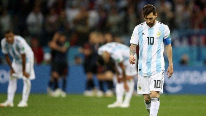 Argentina Kalah 3 Gol Tanpa Balas dari Kroasia, Pria Ini Nekat Bunuh Diri, Tinggalkan Catatan Begini