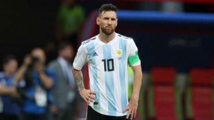 Statistik Menunjukkan Lionel Messi Malas Sepanjang Penampilannya Membela Argentina di Rusia