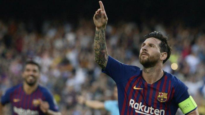 Lionel Messi Cetak Rekor 5 Gol Dalam Satu Pertandingan di Liga Champions