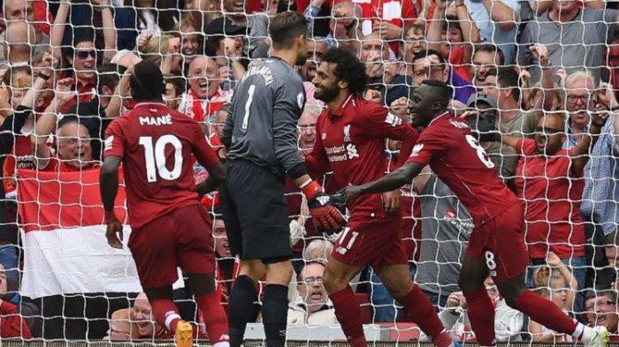 Liverpool Perkasa Dikandang, Menang 4-0 Atas Westham