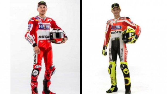 Ini Yang Dikhawatirkan Valentino Rossi Dengan Jorge Lorenzo Bersama Ducati