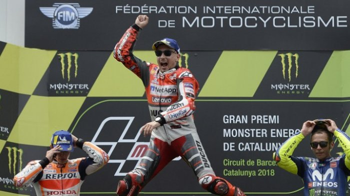 Ini Klasemen Sementara MotoGP Usai GP Catalunya, Segini Selisih Poin Marc Marquez-Valentino Rossi