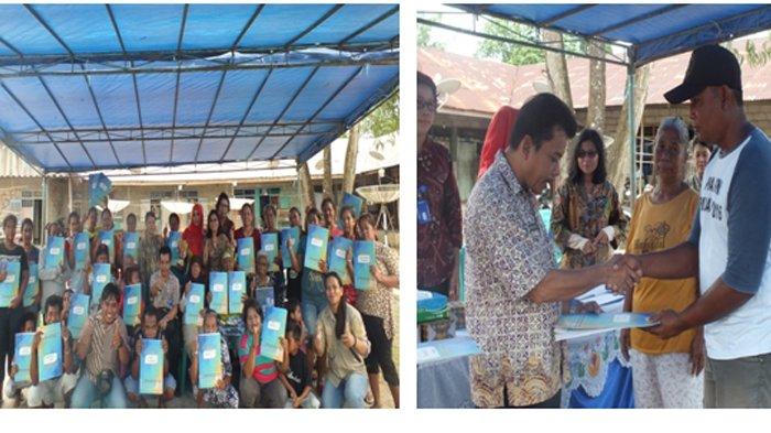 LPMP Amair Fasilitasi 69 Warga Suku Sawang Untuk Mendapatkan Akta Kelahiran