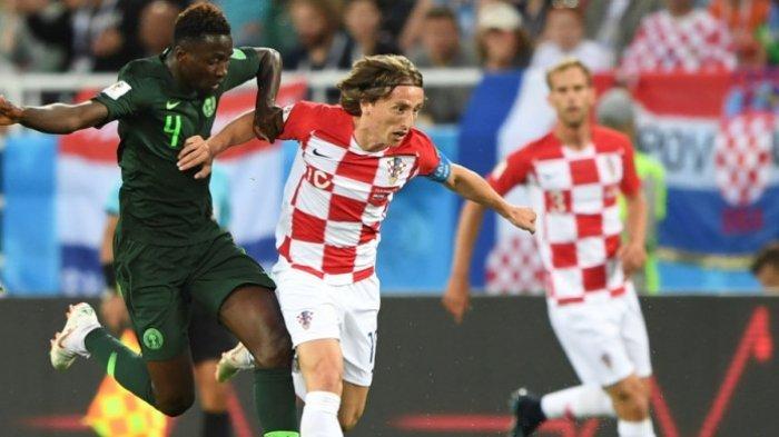 Gol Bunuh Diri dan Eksekusi Pinalti Luca Modric Bawa Kroasia Kalahkan Nigeria