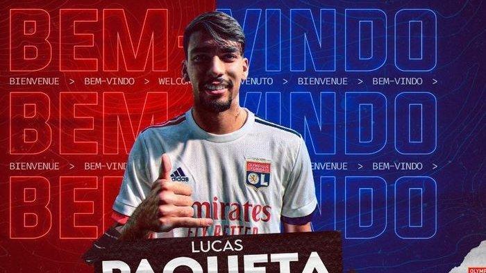 AC Milan Lepas 2 Pemain, Lucas Paqueta ke Lyon, Houssem Aouar Makin Dekat ke Arsenal