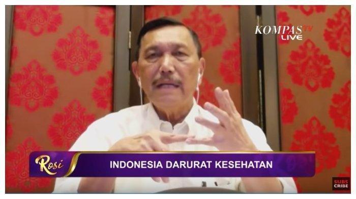 Kabar Baik dari Luhut, Prediksi Ilmuan Sebut Corona Berakhir April, Bersyukur Indonesia Dilewati ini