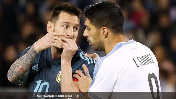 Lionel Messi dan Luis Suarez Samai Rekor Ronaldo, Berstatus Pengoleksi Gol Terbanyak untuk Timnas
