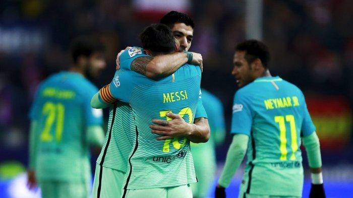 Barcelona Bungkam Tuan Rumah Atletico Madrid 2-1