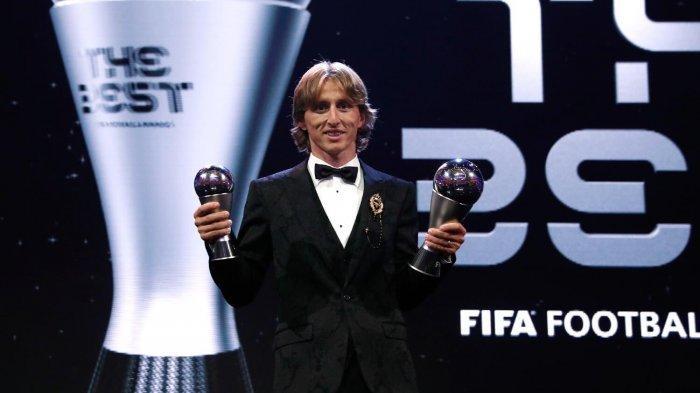 Modric Raih Ballon d'Or 2018, Messi Terlempar ke Posisi 5, Ronaldo dan Neymar?