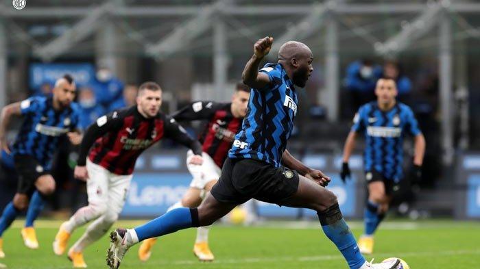 Inter Tekuk AC Milan Ajang Coppa Italia, Romelu Lukaku Momok Rossoneri dalam Derby della Madonnina