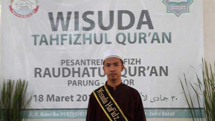 M Ridho Sempurnakan Hapalan Al Quran 30 Juz Kurang dari 2 Bulan