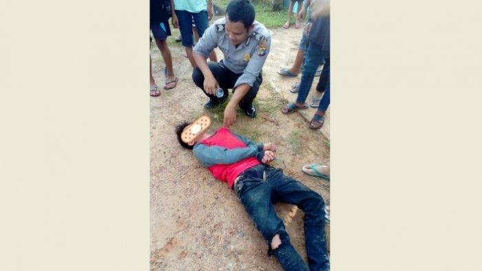 Remaja Mabuk Arak Campur Obat Batuk Tabrak Beton Pembatas Jembatan