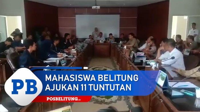 Aliansi Mahasiswa Belitung Tetap Akan Pertanyakan dan Kawal 11 Tuntutan yang Disampaikan ke DPRD