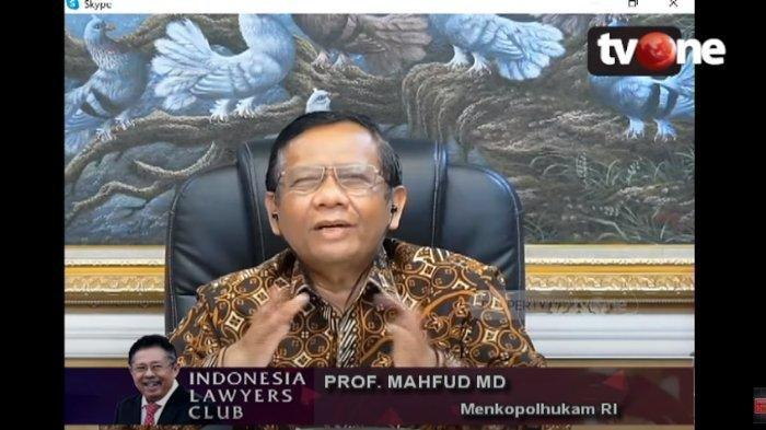 Mahfud MD Jelaskan Soal Salat Tarawih hingga Sebut Pemerintah Dinamis dalam Menangani Covid-19