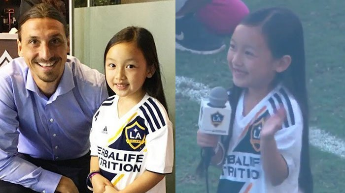 Video Anak Indonesia Nyanyikan Lagu Kebangsaan AS Viral, Suara Merdunya Pukau Zlatan Ibrahimovic
