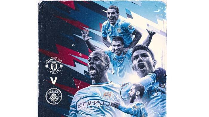 Link Live Streaming Semifinal Piala Liga Inggris Man United Vs Man City, Kick Off Pukul 02.45 WIB