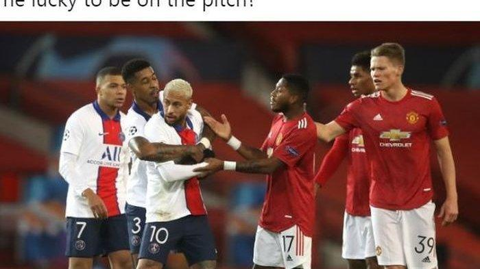 VIDEO Liga Champions Man United Vs PSG, 2 Menit Petaka Setan Merah, PSG Pesta di Old Trafford