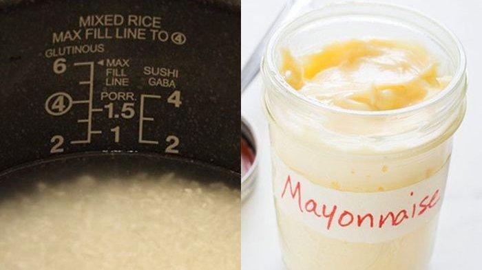 Cuma Tambahkan Mayones saat Masak Nasi, Ibu Rumah Tangga Ini Kaget dengan Hasilnya!