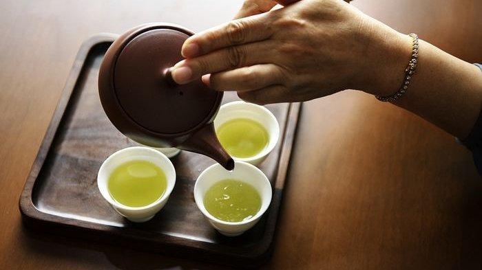 Manfaat teh hijau untuk tubuh.