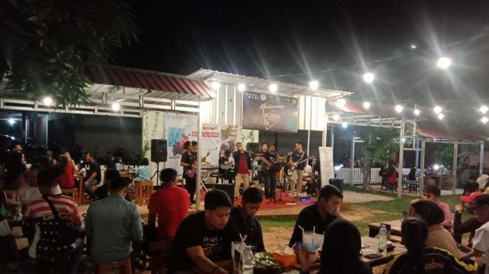 Tunas Dwipa Matra (TDM) Gelar Roadshow Sekaligus Launching Honda New Beat di Mr Jhon Cafe Manggar