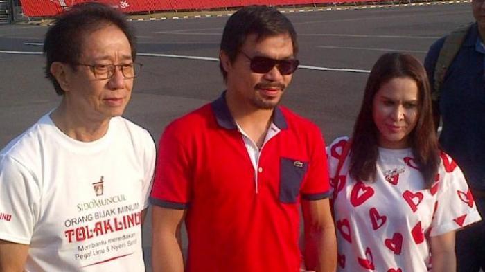 Promotor Tinju ini Ngotot Larang Manny Pacquiao Duel sama Orang Ini, Benarkah Pukulannya Mematikan?