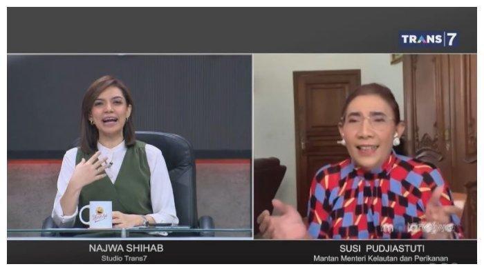 Susi Pudjiastuti Ngaku Tak Kaget Edhy Prabowo Terjerat Kasus Benur: Saya Dulu Ditawari Rp 5 Triliun