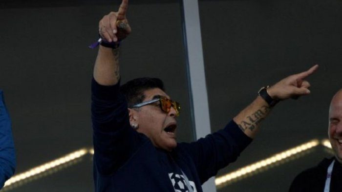 Argentina Lolos ke 16 Besar Maradona Terpaksa Harus Dirawat Tim Medis, Ini Penyebabnya