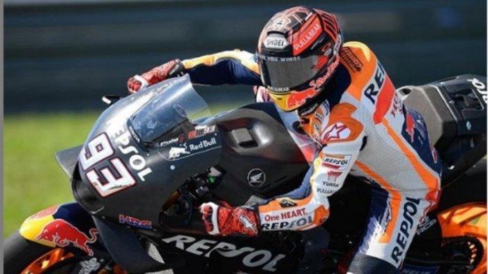 Masih Takut, Marquez Ganti Gaya Duduk di Motor Saat Jalani Tes Pramusim MotoGP 2019