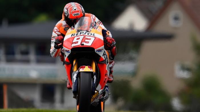 Marquez Tercepat Sesi Latihan Ketiga GP Jerman, Bagaimana Rossi dan Vinales