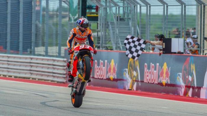 Juara di Jerman, Poin Marquez Melesat Tinggalkan Rossi