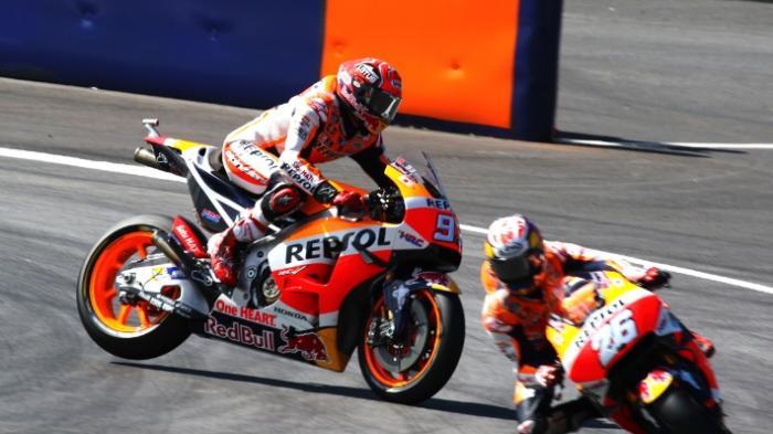 Ini Kata Marquez, Usai Alami Kecelakaan Saat Latihan Bebas GP Austria