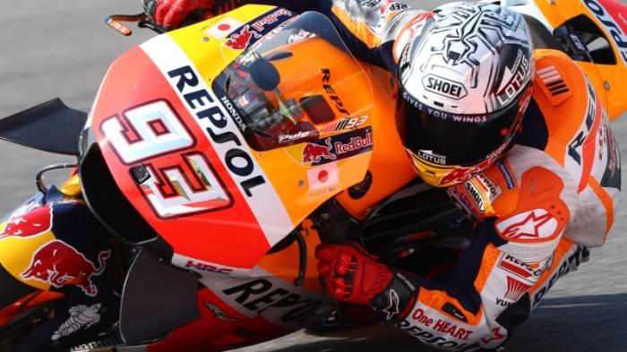 Terlempar ke Posisi Lima Hingga Akhirnya Juara, Ini Kronologis Kemenangan Marquez di GP Aragon