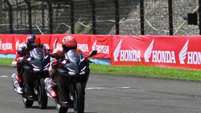 Ini Spesifikasi Motor Honda CBR250RR Yang Digeber Marquez di Sentul