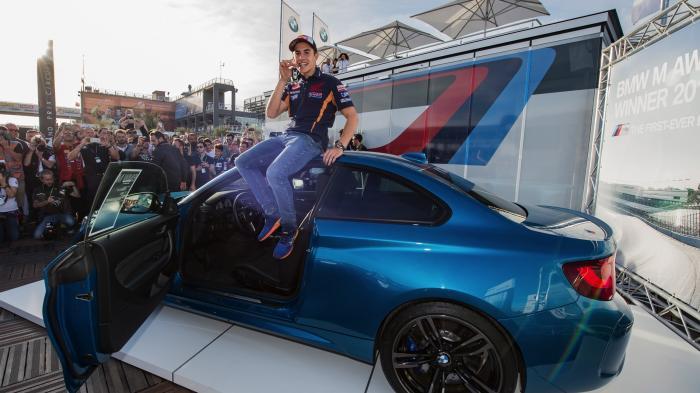 Wooow, Marquez Dapat Hadiah Mobil BMW Rp 1,3 Miliar