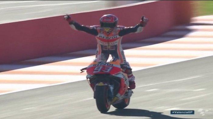 MotoGP Valencia Hantar Marc Marquez Juara Dunia