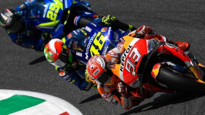 Unggul dari Valentino Rossi, Marc Marquez Raih Kemenangan 9 Kali Beruntun di GP Jerman