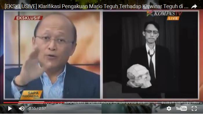 Ini Video Pengakuan Mario Teguh di Kompas TV, Kiswinar Jadi Pemicu Bagi Sesuatu yang Lebih Besar