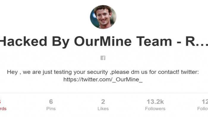 Hacker Curi Password Akun CEO Facebook Mark Zuckerberg