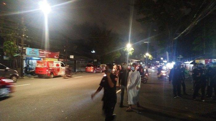 Markas FPI Ramai dan Dijaga Ketat, TNI dan Polri Siaga di Asrama Brimob